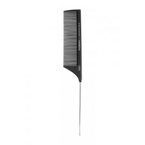 "Cricket Carbon Comb C55m Medium Tooth Metal Rattail 8.75"""